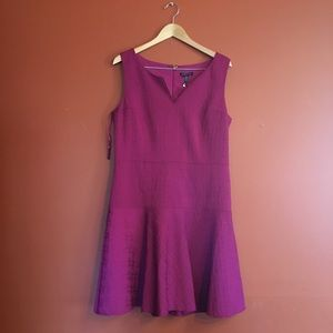 NWT Eileen Fisher fit and flare sleeveless dress M